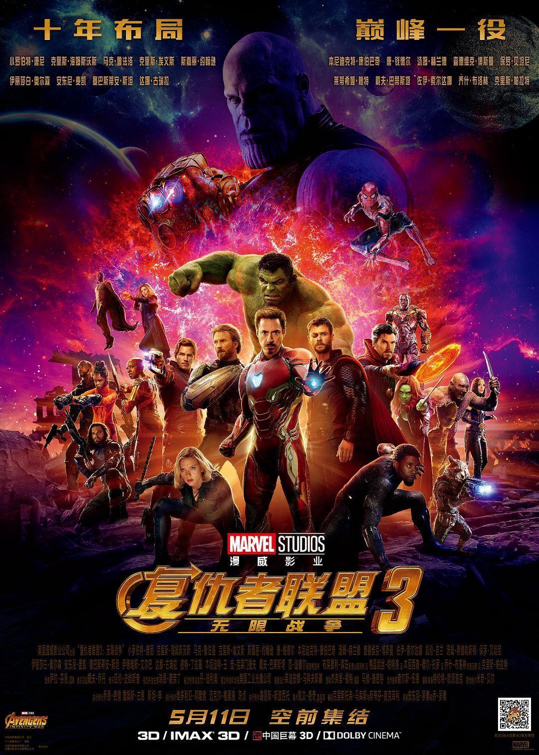 复仇者联盟3:无限战争 Avengers: Infinity War